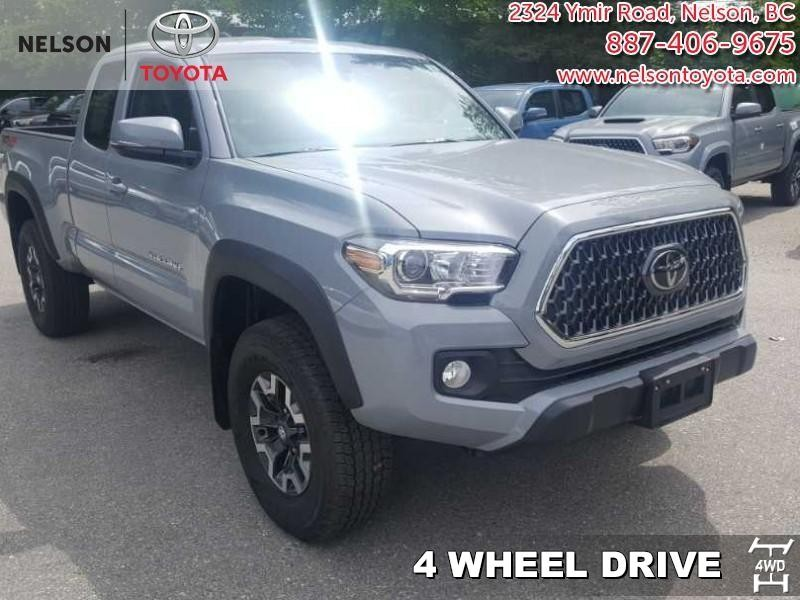 2019 Toyota Tacoma 4x4 Access Cab V6 Manual TRD Off Road (16914) Main Image